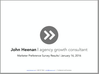 MarketersSurvey